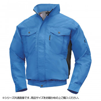 NA-1111 Nクールウェア (服 3L) ブルー/チャコール チタン エリポケ 8211859 メーカ直送品  代引き不可/同梱不可