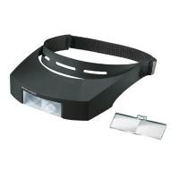 エッシェンバッハ ラボ・シリーズ ラボ・ヘッド ヘッドバンド+レンズ2枚セット 両眼レンズ メーカ直送品  代引き不可/同梱不可