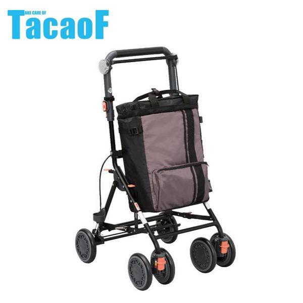 幸和製作所 テイコブ(TacaoF) シルバーカー デイリートロリー ブラウン SLM09 メーカ直送品  代引き不可/同梱不可