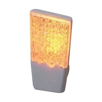 省エネ 節電 拡散パネルでオシャレに演出するフットライト ELPA LEDナイトライト 明暗センサー 代引き不可 AM アンバー 卓出 メーカ直送品 [並行輸入品] 同梱不可 PM-L112