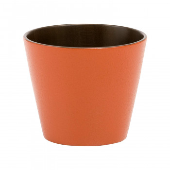 そば猪口 sibo 桜 黒×オレンジ 5個セット メーカ直送品  代引き不可/同梱不可