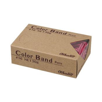 共和 カラーバンドプチ ピンク 30g/箱 GGC-030-PK 100箱 メーカ直送品  代引き不可/同梱不可