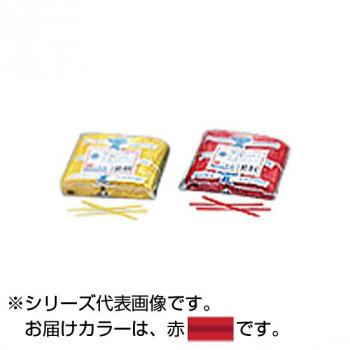 共和 PVC カット品 赤 500本ゴム×2/袋 QA-080-4G 50袋 メーカ直送品  代引き不可/同梱不可