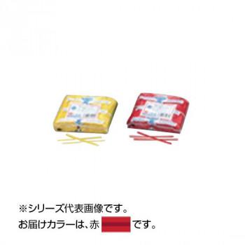 共和 PVC カット品 赤 500本ゴム×2/袋 QA-120-4G 50袋 メーカ直送品  代引き不可/同梱不可