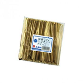 共和 Vカットリボン 3層 金 500本/袋 QGV121-11T 20袋 メーカ直送品  代引き不可/同梱不可