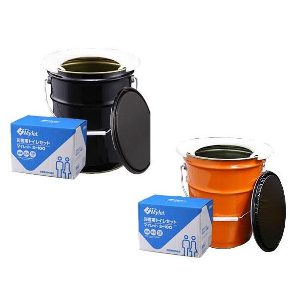 災害用 マイペール100回セット(ペール缶トイレ+トイレ処理100回分) 代引き不可/同梱不可