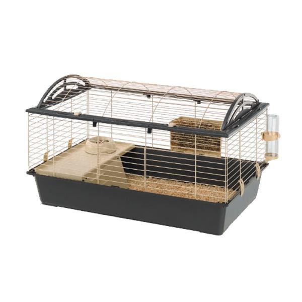ferplast(ファープラスト) ウサギ用ケージセット キャシタ 100 57066070 メーカ直送品  代引き不可/同梱不可