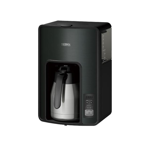 サーモス 真空断熱ポットコーヒーメーカー 1.0L ECH1001-BK 代引き不可/同梱不可