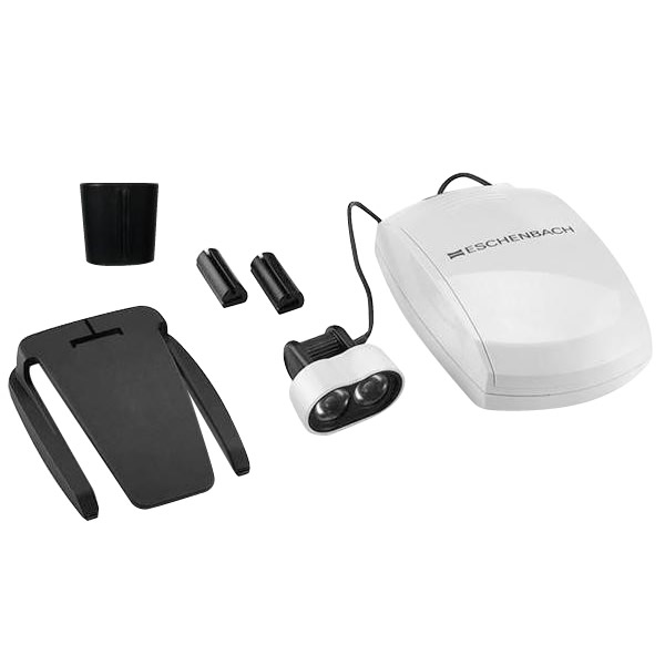 エッシェンバッハ マックス・ディテール用ヘッドライトLED 眼鏡用クリップタイプ 1604-22 メーカ直送品  代引き不可/同梱不可