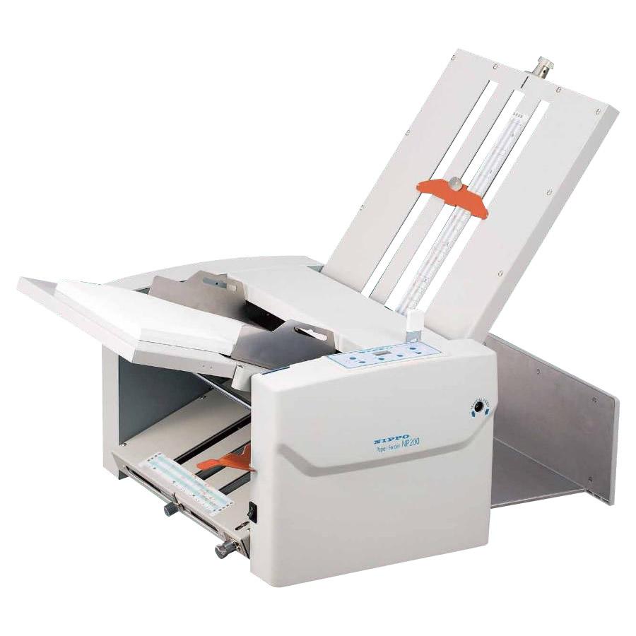 NIPPO ニッポー オフィス機器 自動紙折り機 NP200 代引き不可/同梱不可