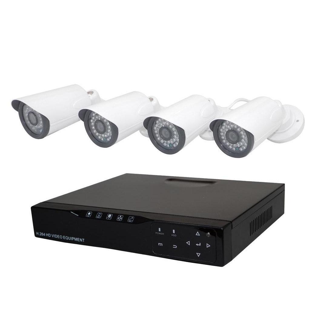 マスプロ電工 カメラ4台+レコーダーセット K-AT-K9304HD 代引き不可/同梱不可