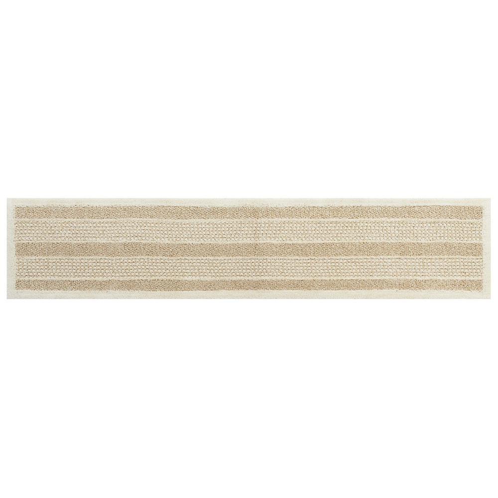 SENKO(センコー) ケナフリップル キッチンマット 約50×240cm ベージュ 145689 メーカ直送品  代引き不可/同梱不可