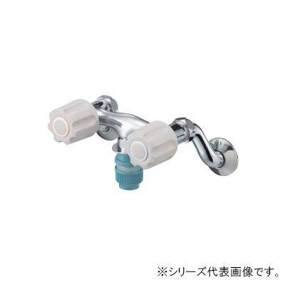 三栄 SANEI U-MIX ツーバルブ洗濯機用混合栓 K1311TV-LH-13 メーカ直送品  代引き不可/同梱不可