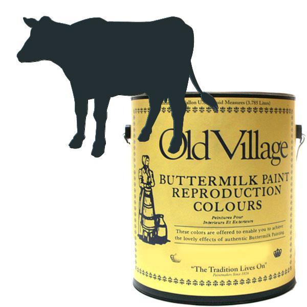 Old Village バターミルクペイント ワイス チェスト ブラック 3785mL 605-13261 BM-1326G メーカ直送品  代引き不可/同梱不可