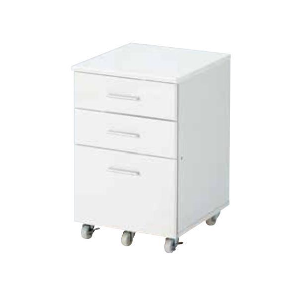 高梨産業 ROBIN(ロビン) デスクチェスト(ホワイト) RS-W4350 メーカ直送品  代引き不可/同梱不可