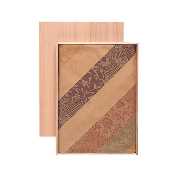 宮井 ふろしき くらしの布 絹90cm幅 古彩裂取縞 13-0947-40 メーカ直送品  代引き不可/同梱不可