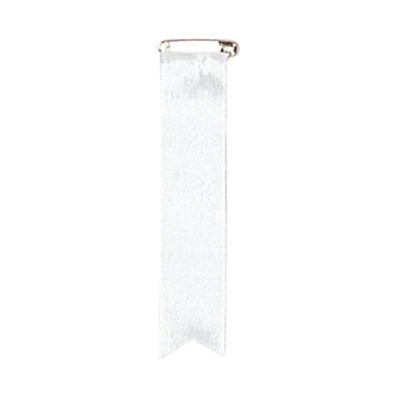 ササガワ タカ印 38-272 記章 四寸タレ 白 500個 メーカ直送品  代引き不可/同梱不可