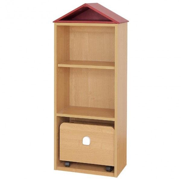 大和屋 Kaupunki(カウプンキ) キッズ家具子供収納家具 トイシェルフ 3058 代引き不可/同梱不可