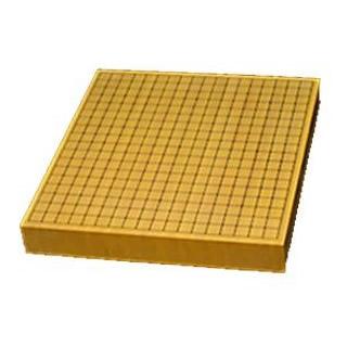 碁盤 卓上用・平盤 新榧 20号 (ハギ)柾目 松(上) GB-S204 メーカ直送品  代引き不可/同梱不可