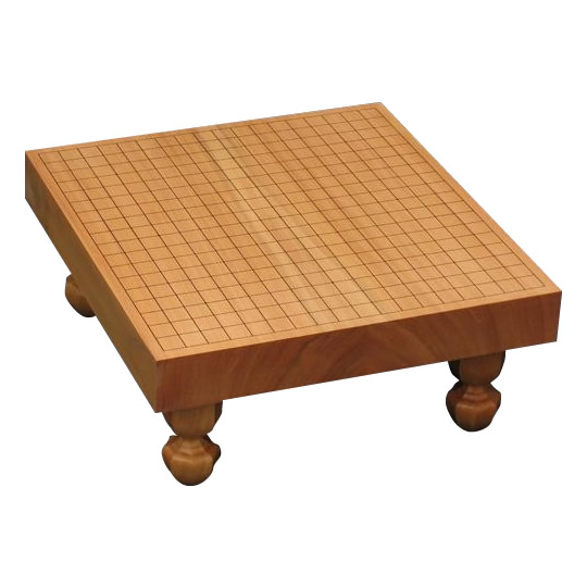 碁盤 卓上・足付兼用 新榧 20号 (ハギ)柾目 GB-S209 メーカ直送品  代引き不可/同梱不可