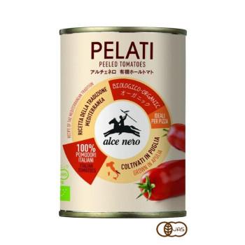 アルチェネロ 有機ホールトマト 400g 24個セット C5-78 メーカ直送品  代引き不可/同梱不可