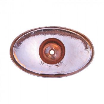 銅製洗面ボウル 楕円型 29404 メーカ直送品  代引き不可/同梱不可