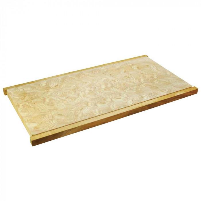 ヤマコー 桧・小口寄木まな板 89982 メーカ直送品  代引き不可/同梱不可