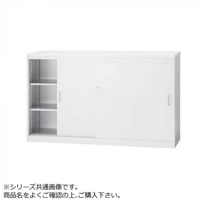 豊國工業 ハイカウンター引戸型(木天板)W1500 CT-H15S メラミン:PR-TYW EG(ホワイトグレー) エッジ:SC40-3005(ホワイトグレー) メーカ直送品  代引き不可/同梱不可