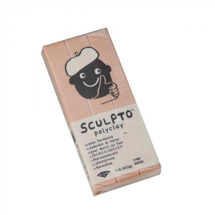 <title>フィギュア造形 原型製作用に開発したオーブン樹脂粘土 SCULPTO スカルプト フィギュア造形用オーブン樹脂粘土 ベージュ 453g メーカ直送品 年間定番 代引き不可 同梱不可</title>