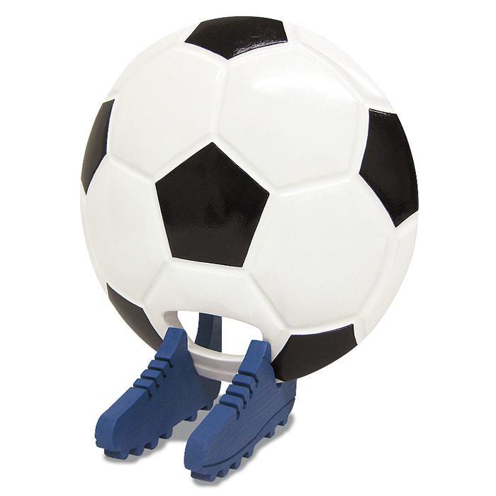 ビッグウエディングスプーン 趣味のシリーズ サッカーボール型スプーン 白黒 飾り台付 メーカ直送品  代引き不可/同梱不可