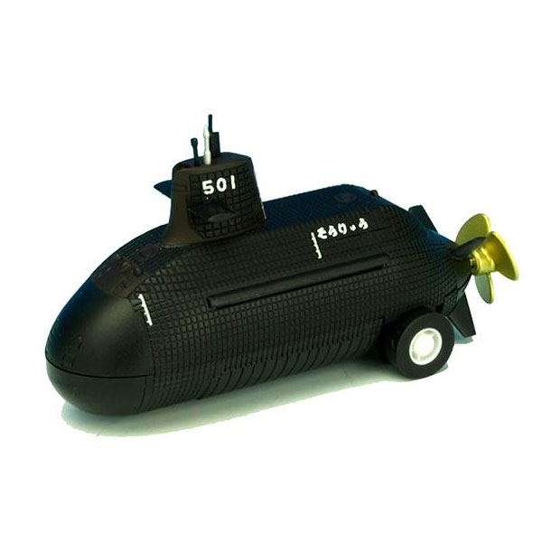 様々な場所で楽しめるプルバックマシーン。 KBオリジナルアイテム プルバックマシーン 潜水艦 そうりゅう KBP013 メーカ直送品  代引き不可/同梱不可