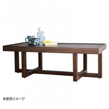 HOMEDAY リビングテーブル WNT(ウォールナット) LT-61-W メーカ直送品  代引き不可/同梱不可