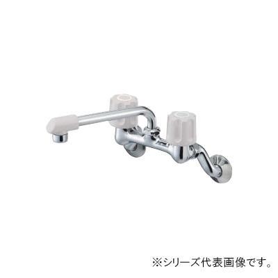 三栄 SANEI U-MIX ツーバルブ混合栓 寒冷地用 K21DK-LH-13 メーカ直送品  代引き不可/同梱不可
