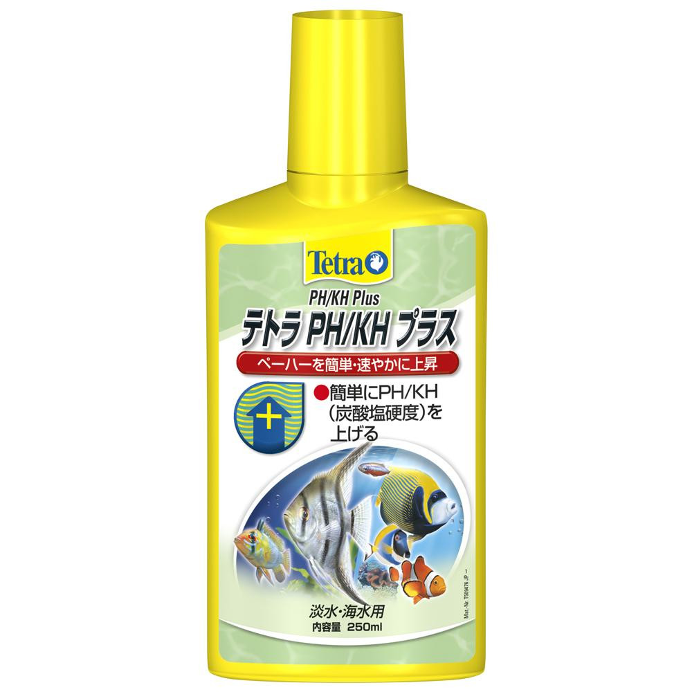 Tetra(テトラ) PH/KH プラス (液体) 250ml×24個 76218 メーカ直送品  代引き不可/同梱不可
