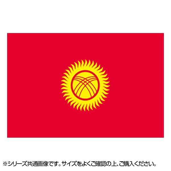 N国旗 キルギスタン No.2 W1350×H900mm 22996 メーカ直送品  代引き不可/同梱不可