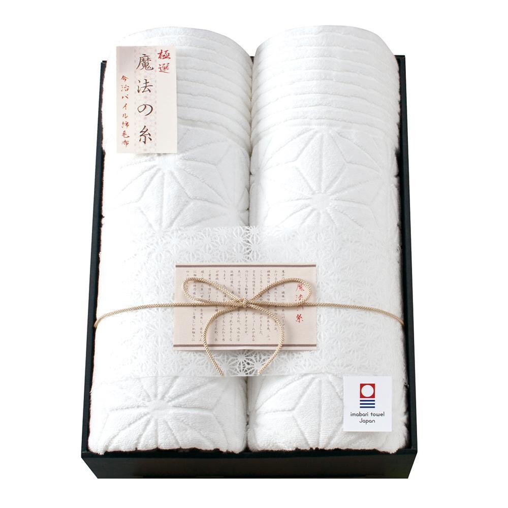 極選 魔法の糸 今治製パイル綿毛布2P AI-20020 代引き不可/同梱不可