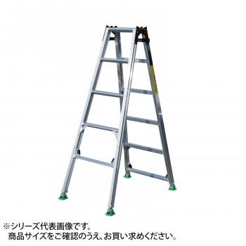 四脚調節式 脚異長はしご兼用脚立 ピッチ DW180 メーカ直送品  代引き不可/同梱不可