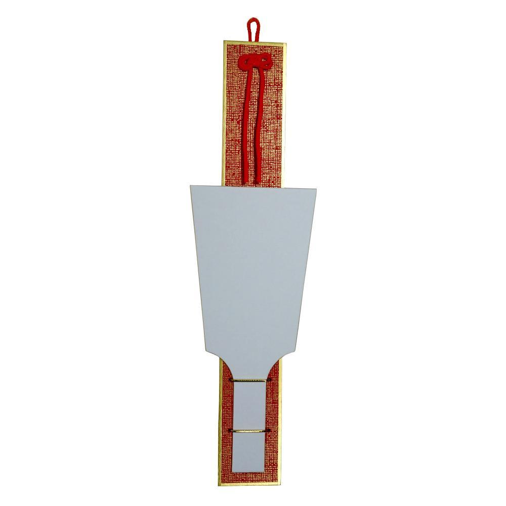 羽子板掛 画仙貼羽子板1枚セット 赤 30枚 0936 メーカ直送品  代引き不可/同梱不可