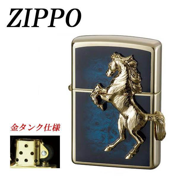 ZIPPO ゴールドプレートウイニングウィニー アトランティックブルー 代引き不可/同梱不可