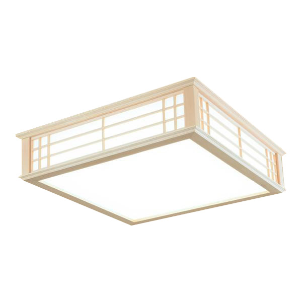 オーム電機 OHM LED和風シーリングライト 12畳用 昼光色 LE-W50DBK-K 代引き不可/同梱不可