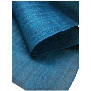 本麻無地のれん 青色 約巾88×丈120cm メーカ直送品  代引き不可/同梱不可
