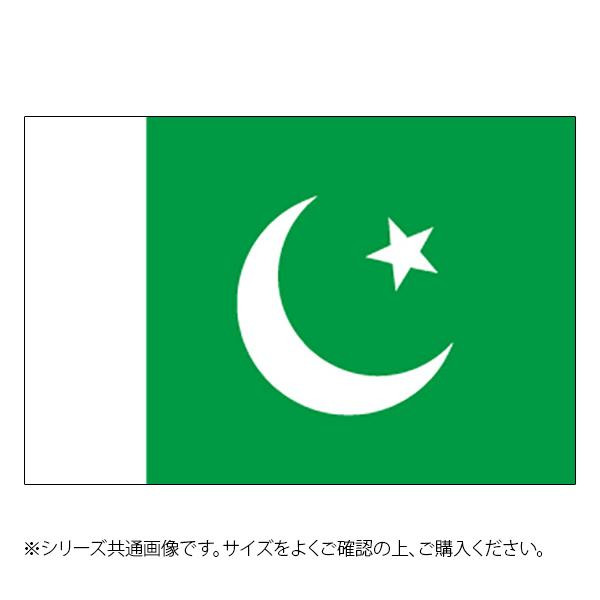 N国旗 パキスタン No.2 W1350×H900mm 23340 メーカ直送品  代引き不可/同梱不可