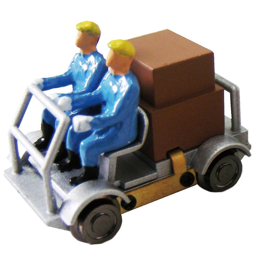 津川洋行 16番 車両シリーズ 軌道バイク(動力付) 車体色:銀色 18002 メーカ直送品  代引き不可/同梱不可