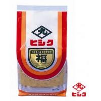 南国鹿児島からおいしさをお届け ヒシク藤安醸造 実物 特上福みそ 麦白みそ メーカ直送品 1kg×5個 代引き不可 保証 同梱不可