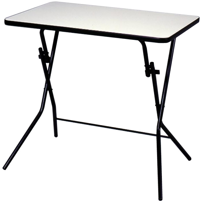 ルネセイコウ スタンドタッチテーブル ニューグレー・ブラック 日本製 完成品 SB-75W 代引き不可/同梱不可
