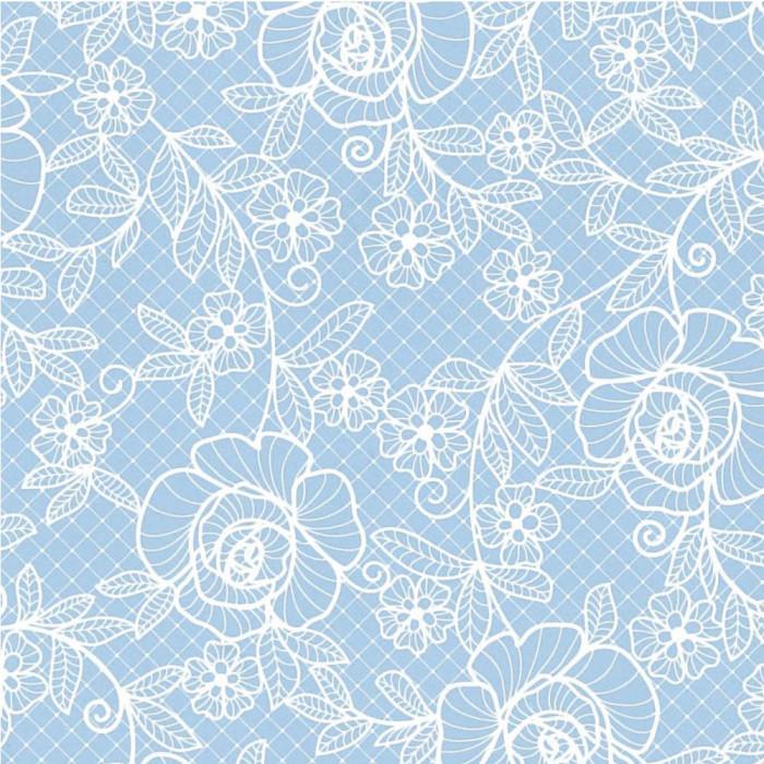 パックタケヤマ 包装紙 ローズレースロイヤルブルー四六1/2 50枚×10包 XZT01681 メーカ直送品  代引き不可/同梱不可
