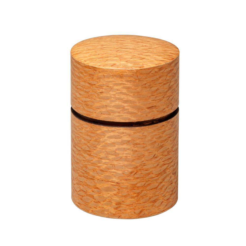帯筒 茶筒(大) シルキーオーク 39303 メーカ直送品  代引き不可/同梱不可
