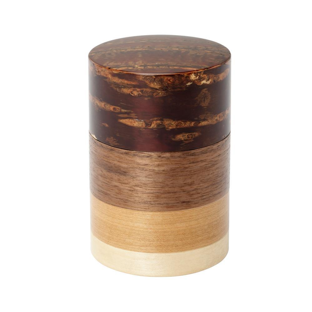 輪筒4色 茶筒 無地皮 37201 メーカ直送品  代引き不可/同梱不可