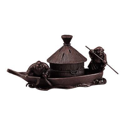高岡銅器 香炉 藻かる香炉 徳色 130-01 メーカ直送品  代引き不可/同梱不可