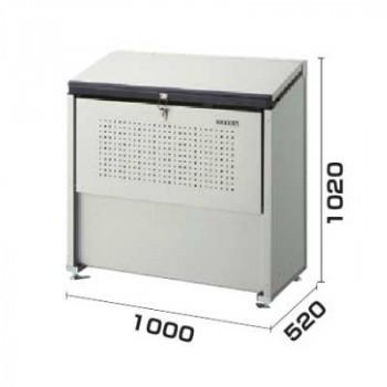 ダイケン ゴミ収集庫 クリーンストッカー 省奥行タイプ 容量400L CKE-1005 メーカ直送品  代引き不可/同梱不可